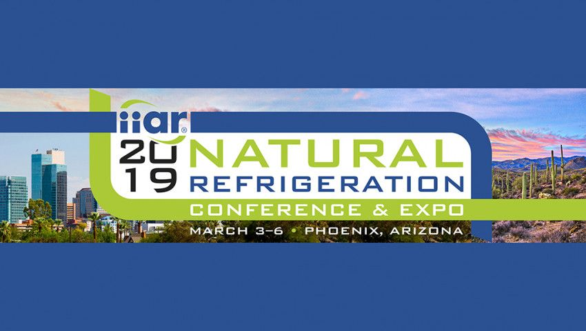 IIAR 2019 Natural Refrigeration Conference & Expo