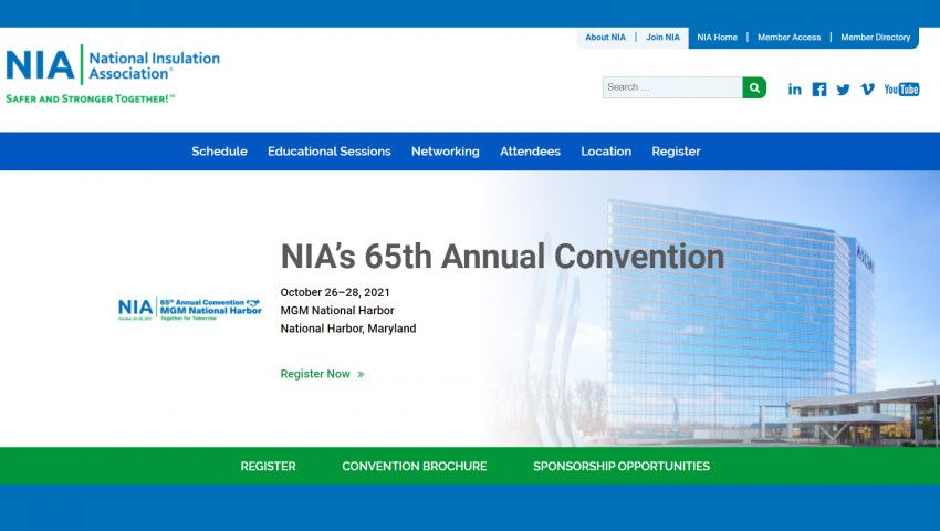 NIA's Convention 2021