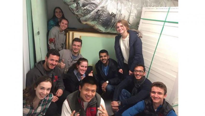 Die Cornell-Studenten bauen ein autonomes Segelboot