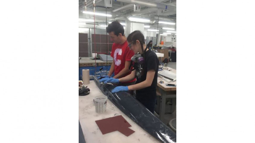 Cornell Students Build Autonomous Sailboat for Oceanic Data Collection