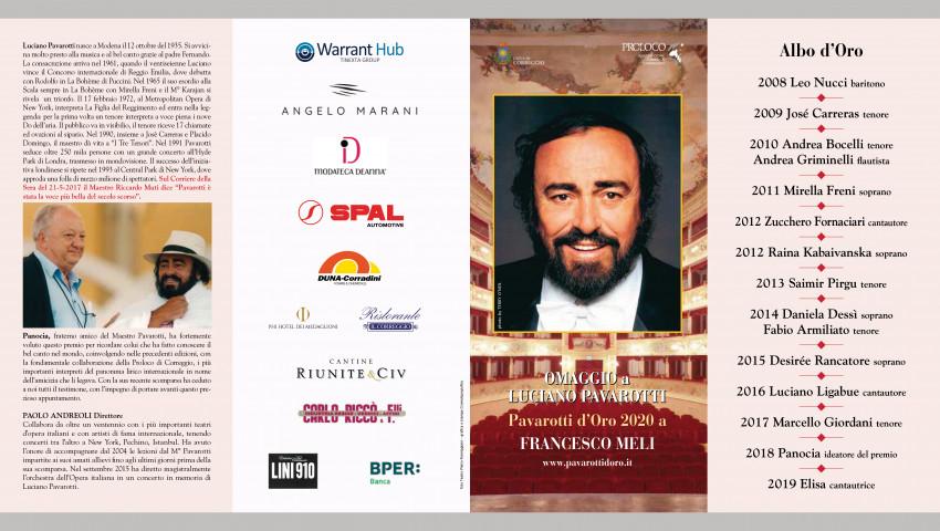 Torna il Pavarotti D'Oro di Correggio