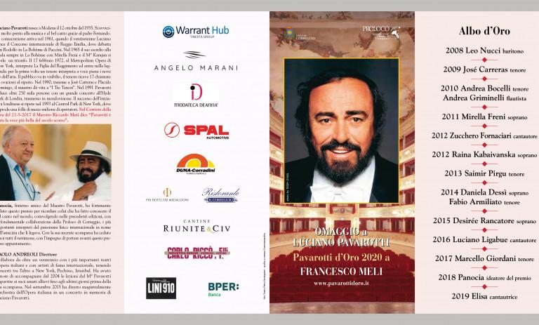 """Correggio's """"Pavarotti D'Oro"""" is back"""
