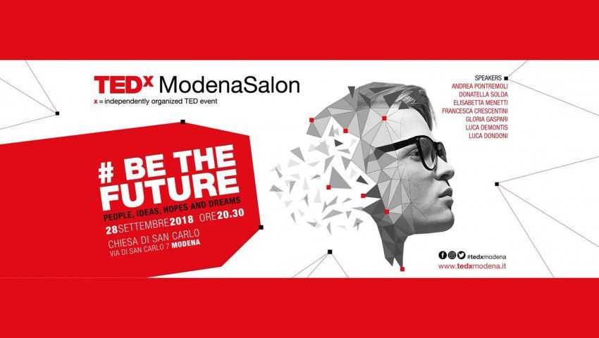 DUNA - 4. TEDxModena Salon, am 28.9.2018 in Modena