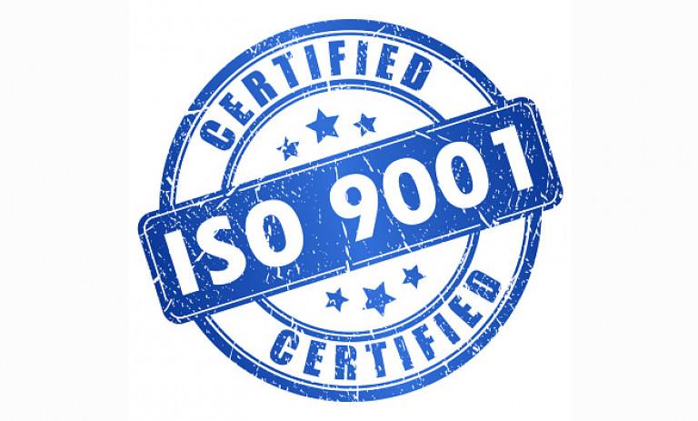 DUNA-USA ISO 9001 certified