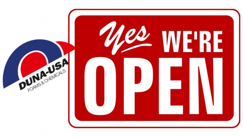DUNA-USA reopens