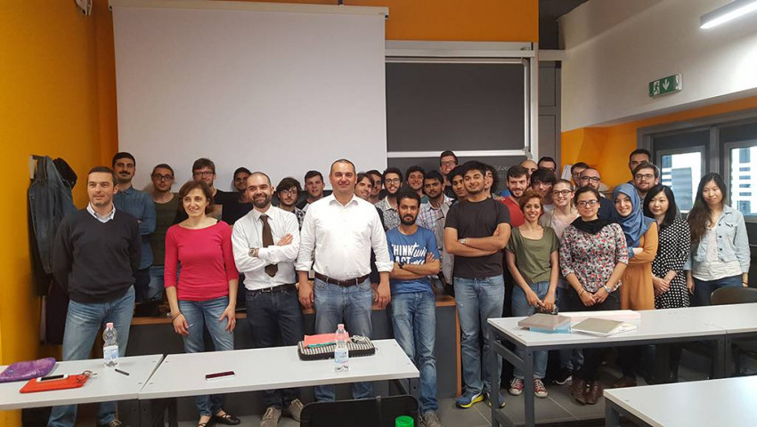 PRESENTATION AT POLYTECHNIC OF MILAN