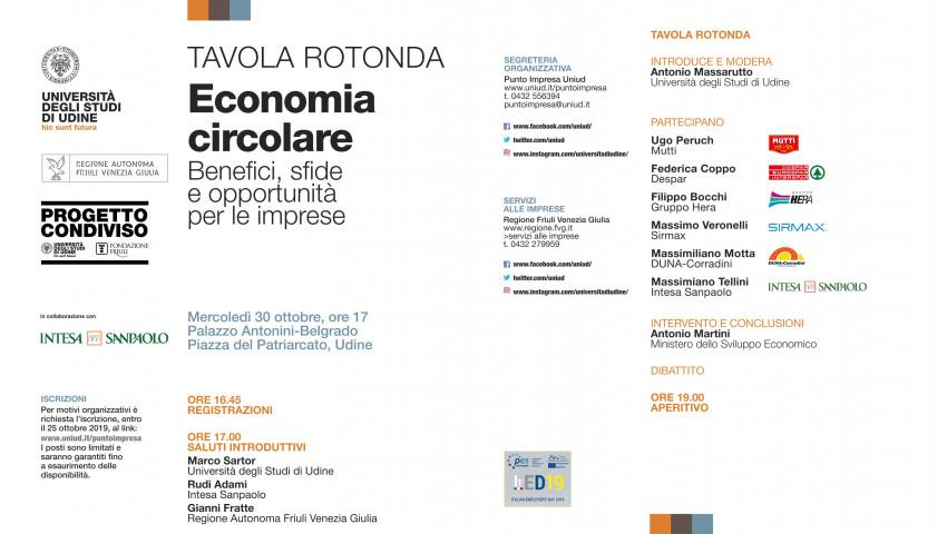 "TAVOLA ROTONDA ""ECONOMIA CIRCOLARE"""