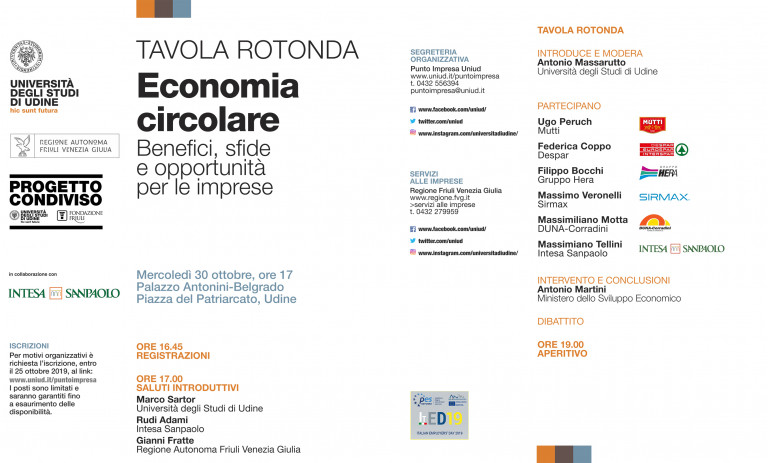 "ROUND-TABLE DISCUSSION ON ""CIRCULAR ECONOMY"""