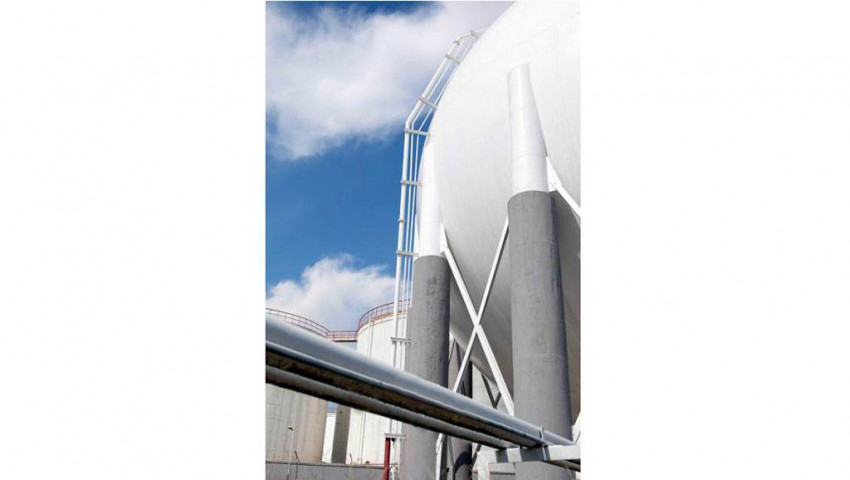 PIR Foam as LNG Tanks Corner Protection