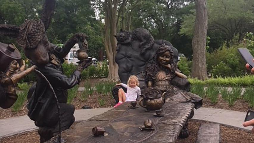 Tea with Alice in Wonderland