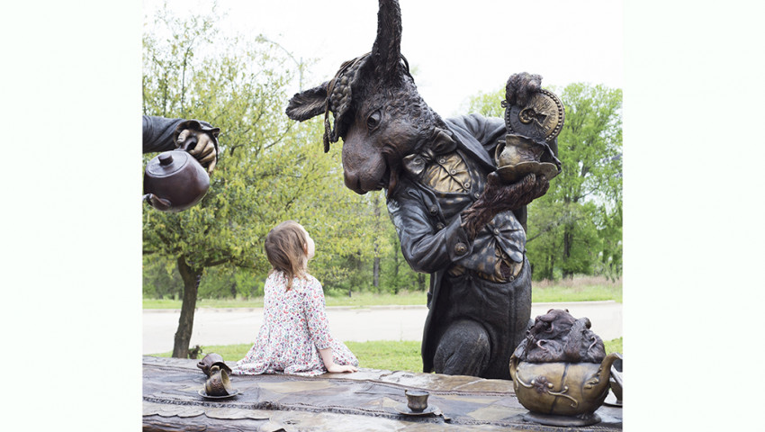 Un tè con Alice nel Paese delle Meraviglie
