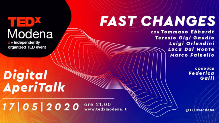 TEDxModena – Digital Evening Talks