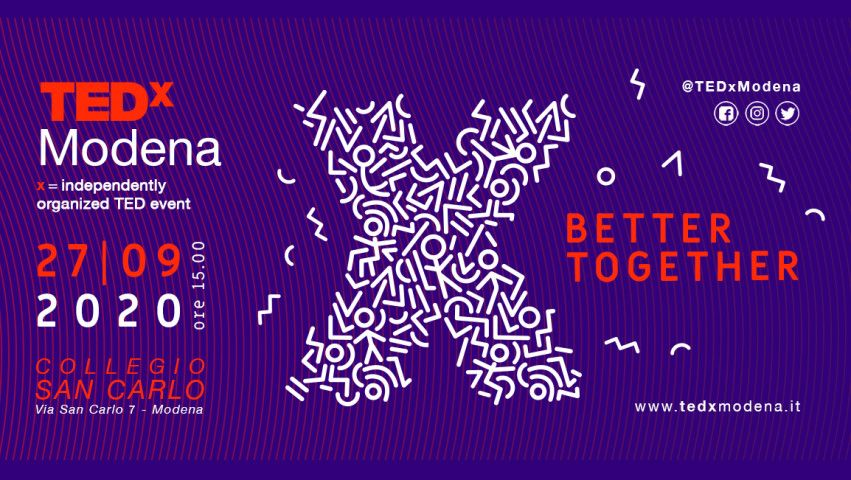 TEDxModena torna sul palco