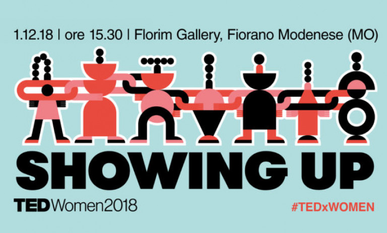 TEDxModenaWomen: Showing up