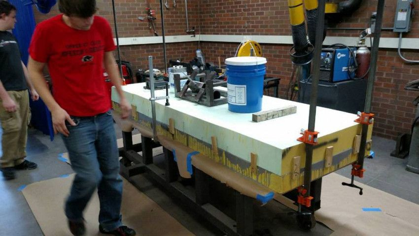 DUNA USA's CORAFOAM® Helps RIT Students Complete Redesign of Formula SAE Race Car