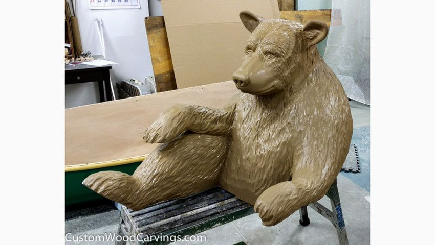 Clawing Away at HDU with Custom Wood Carvings